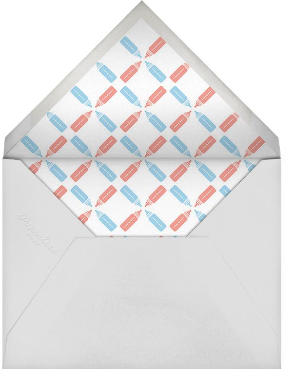Royal Pair - Paperless Post - Baby shower - envelope back