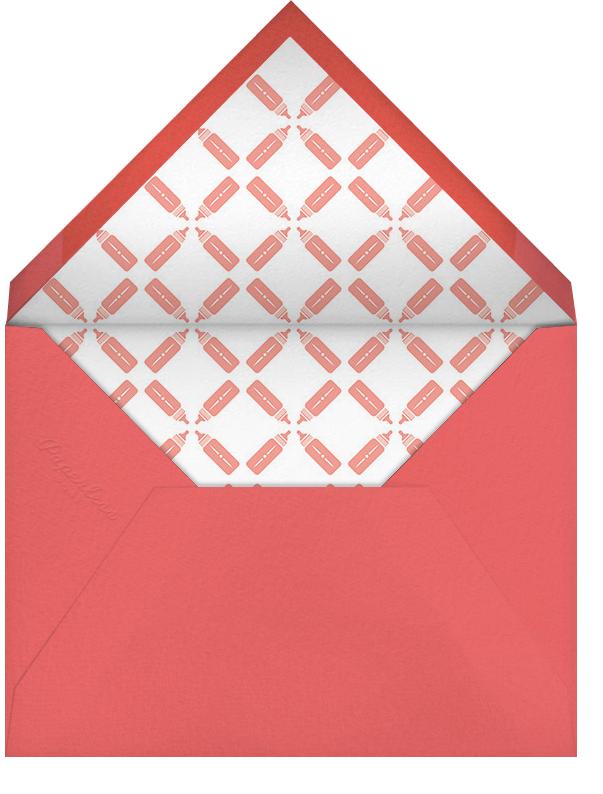 Royal Pair - Pink - Paperless Post - Baby shower - envelope back