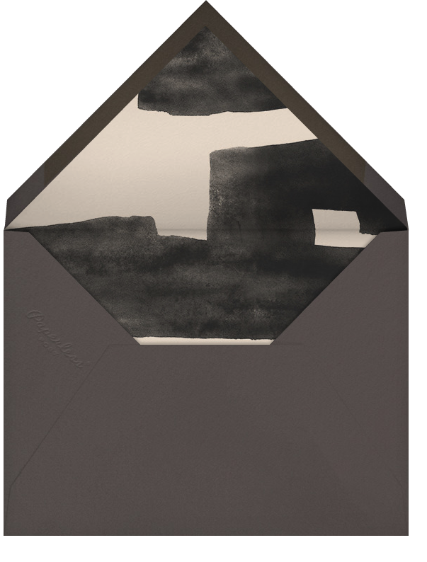 Symmetry - Ivory/Pink - Kelly Wearstler - Engagement party - envelope back