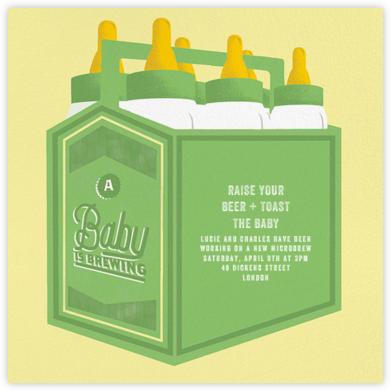 Bottles Up - Green - Paperless Post