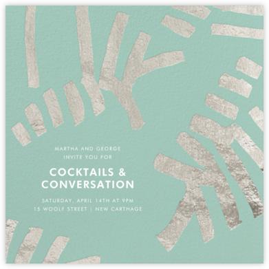 Sonnet - Celadon/Silver - Kelly Wearstler -