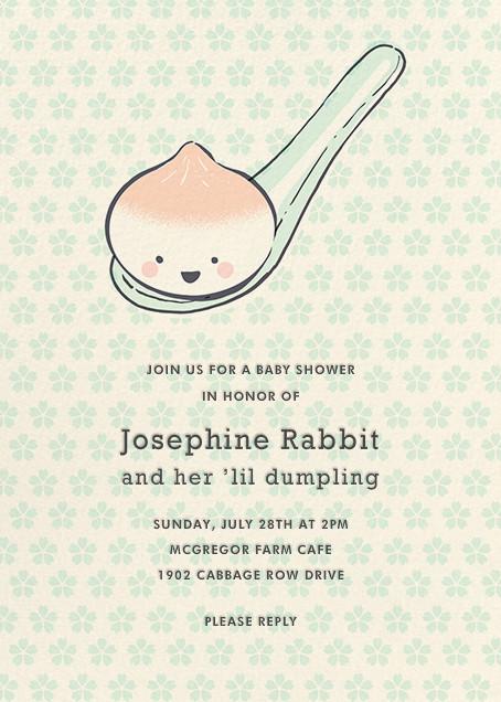 Little Dumpling (Invitation) - Hello!Lucky - Celebration invitations