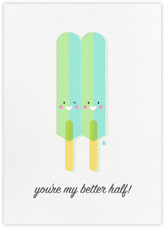 Let's Stick Together - Hello!Lucky - Love Cards