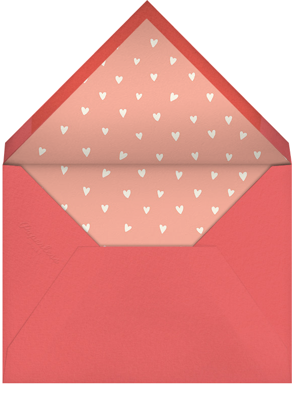 Pizza My Heart - Hello!Lucky - Love cards - envelope back