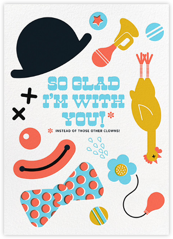 Clowning Around - Hello!Lucky - Hello!Lucky - Cards, Invitations, Stationery