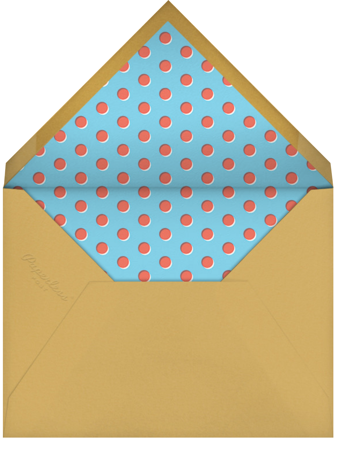 Clowning Around - Hello!Lucky - Love cards - envelope back