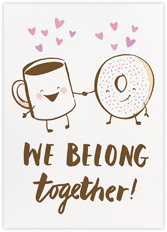 Breakfast Buddies  - Hello!Lucky - Valentine's Day Cards