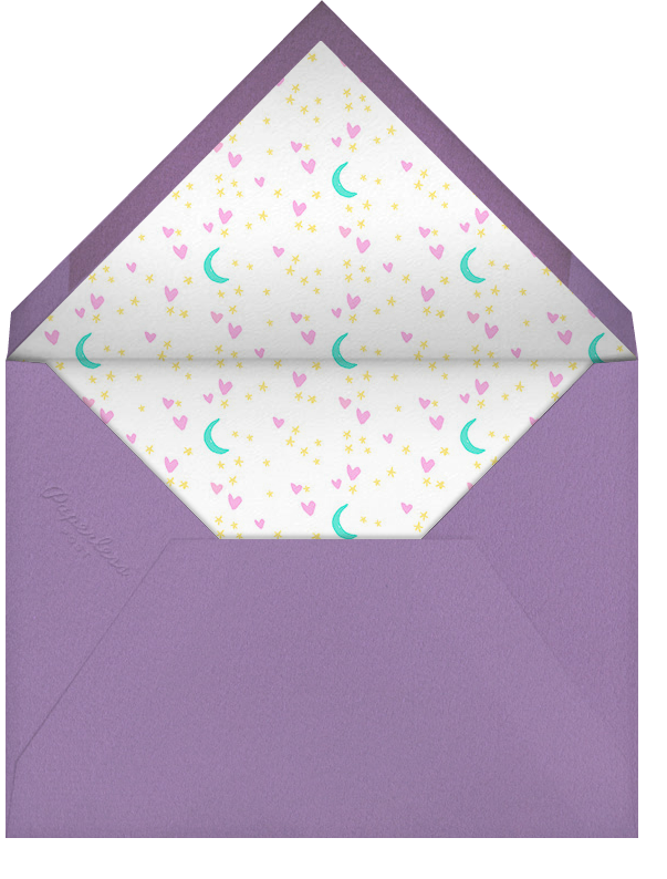 Are You For Real - Hello!Lucky - Unicorn invitations - envelope back