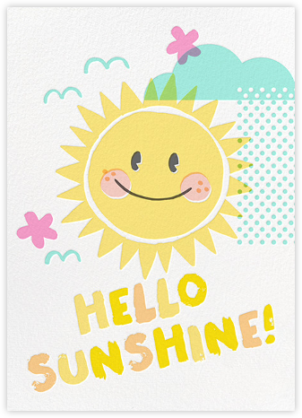 Good Morning, Sunshine - Hello!Lucky - Congratulations cards