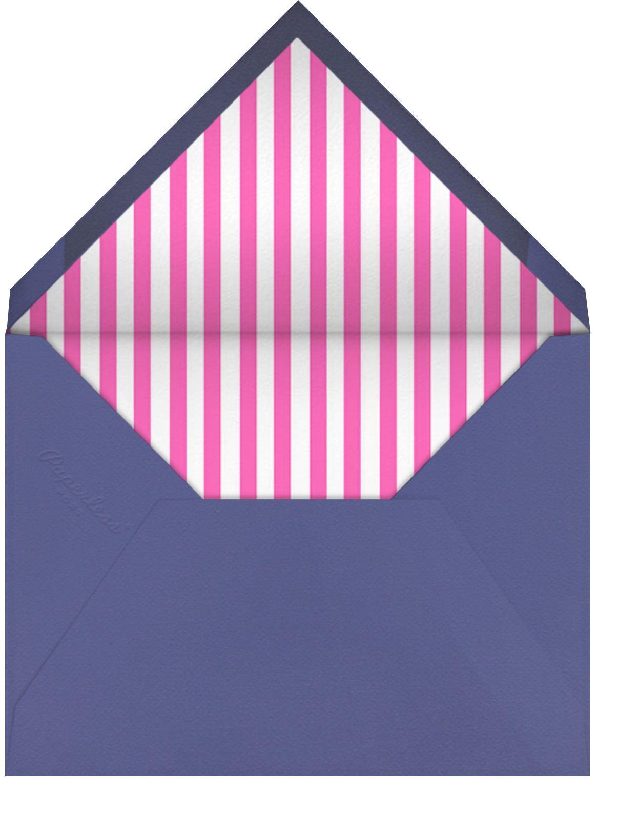 Shades on Parade - Hello!Lucky - Love cards - envelope back