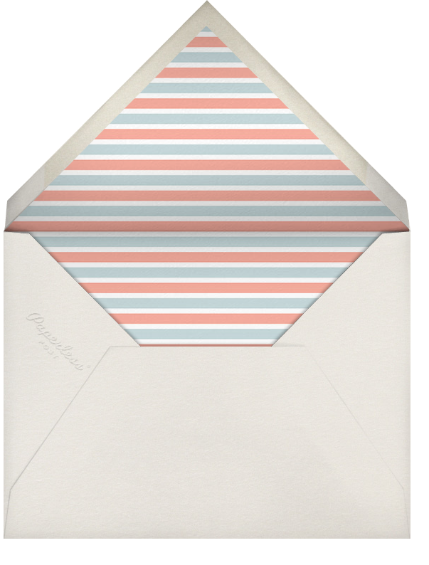 Yachts of Love (Invitation) - Hello!Lucky - Baby shower - envelope back