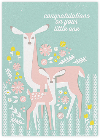 Congrats, Deer - Hello!Lucky - Congratulations cards