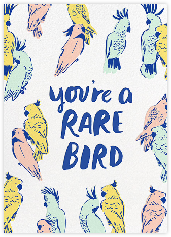 Rare Bird - Hello!Lucky - Thank you cards