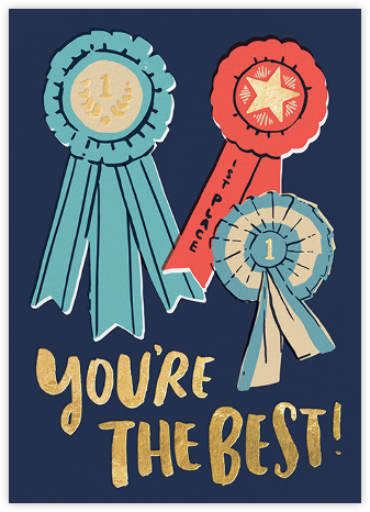 You're the Best - Hello!Lucky - Online Thank You Cards