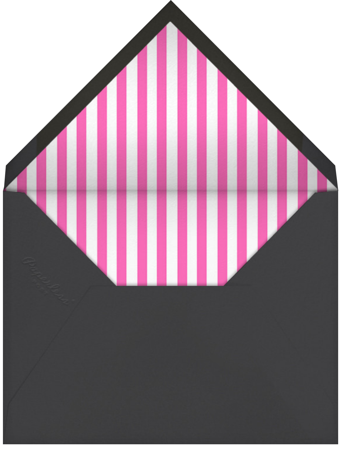 You're Irresistible - Hello!Lucky - Love cards - envelope back