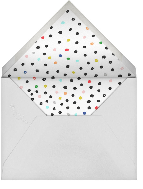 Nonpareil Baby - Ashley G - Baby shower - envelope back