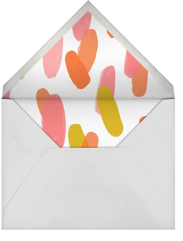 Scratchboard Birthday - Hot Pink - Ashley G - Envelope