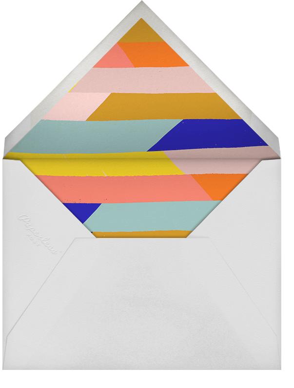 Scratchboard Welcome - Ivory - Ashley G - General entertaining - envelope back
