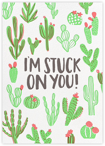 Cactus Love - Hello!Lucky - Valentine's day cards