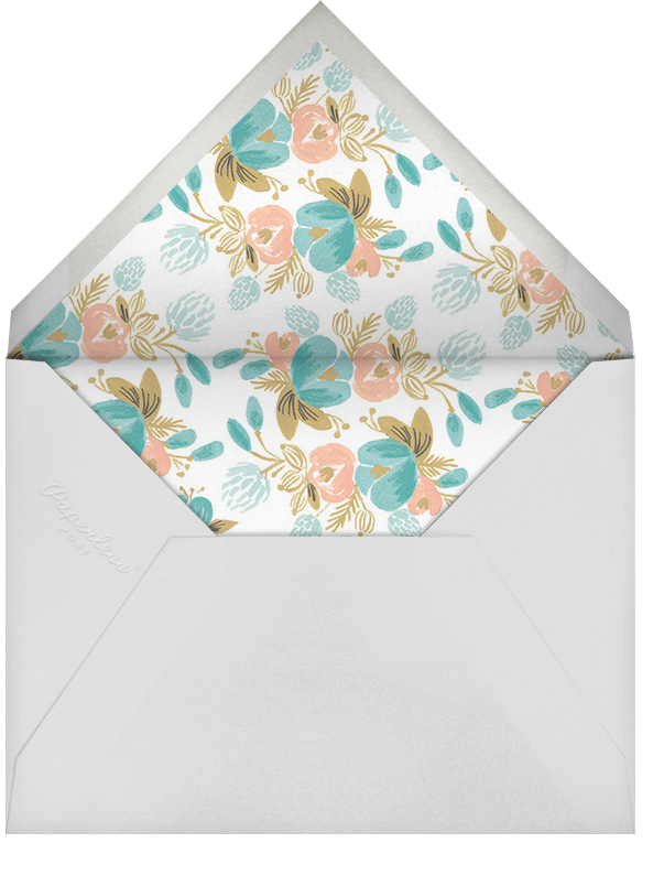Classic Garland - Rifle Paper Co. - Baby naming and bris - envelope back
