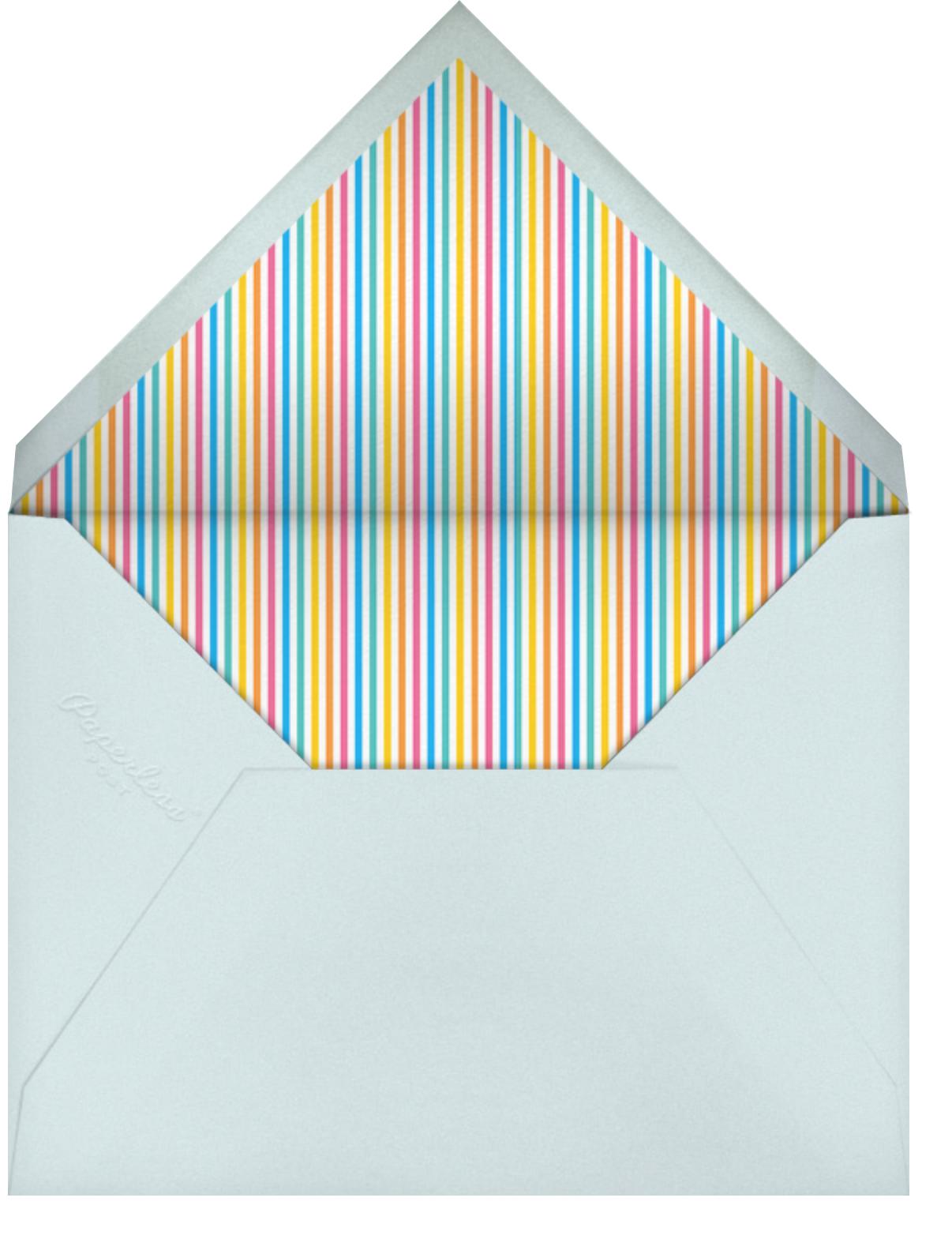 Floating Festivities (Invitation) - Little Cube - Kids' birthday - envelope back