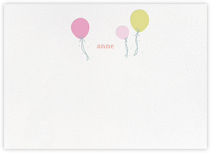 Floating Festivities (Stationery) - Little Cube - Baby and kids' stationery