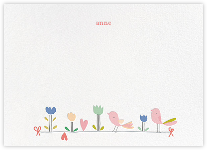 Birdie and Friends (Stationery) - Little Cube - Baby and kids' stationery
