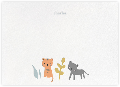 Tiggy and Jet - Little Cube - Baby and kids' stationery