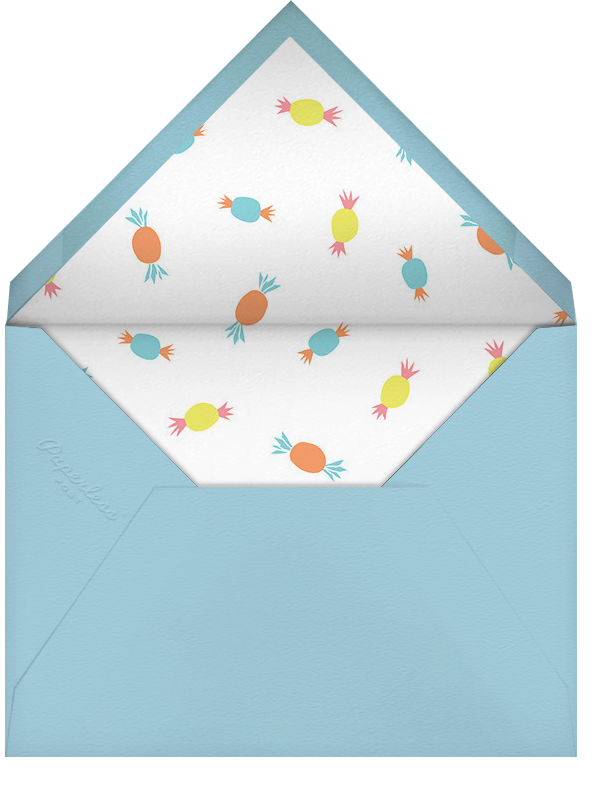 Monkie's New Wheels - Little Cube - Kids' stationery - envelope back