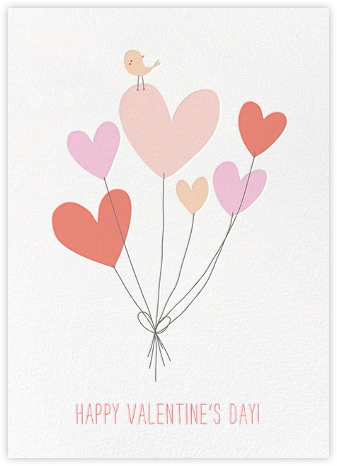 Birdie's Balloons (Greeting)  - Little Cube - Online greeting cards