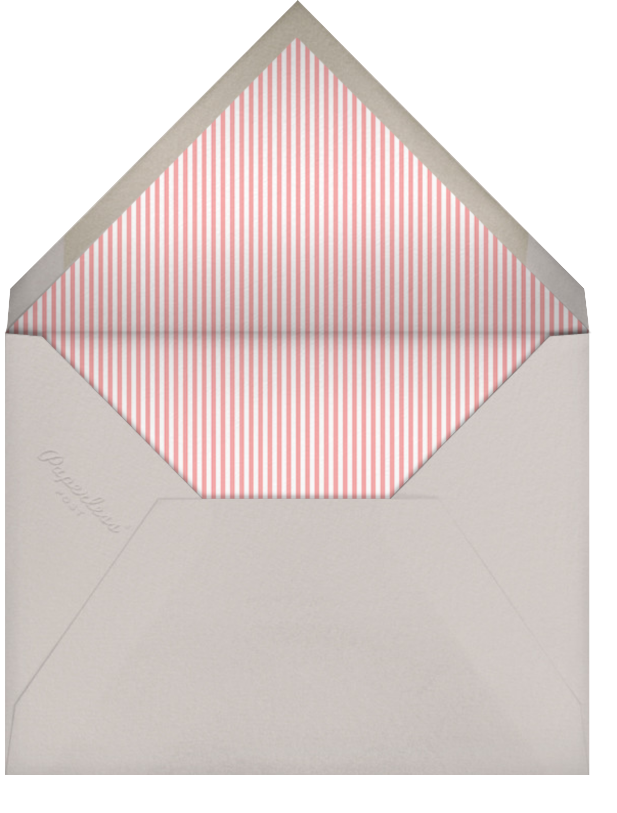 Little Heart Halo (Invitation) - Gold - Little Cube - Kids' birthday - envelope back