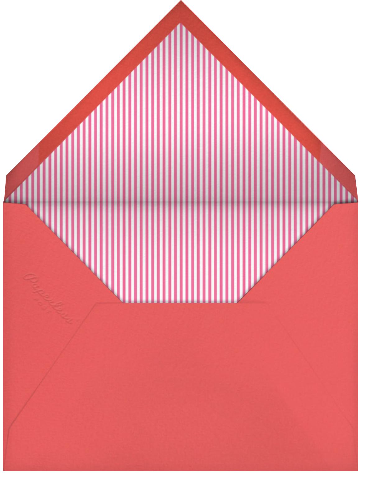 Birdie's Balloons (Photo) - Pink - Little Cube - Valentine's Day - envelope back