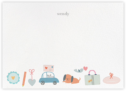 Postmouseter - Little Cube - Baby and kids' stationery