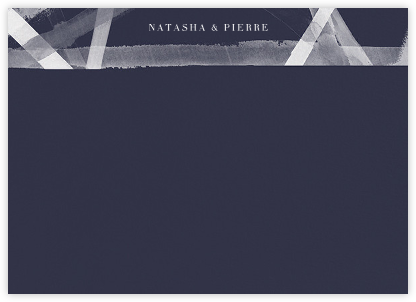 Channels (Stationery) - Navy - Kelly Wearstler - Kelly Wearstler