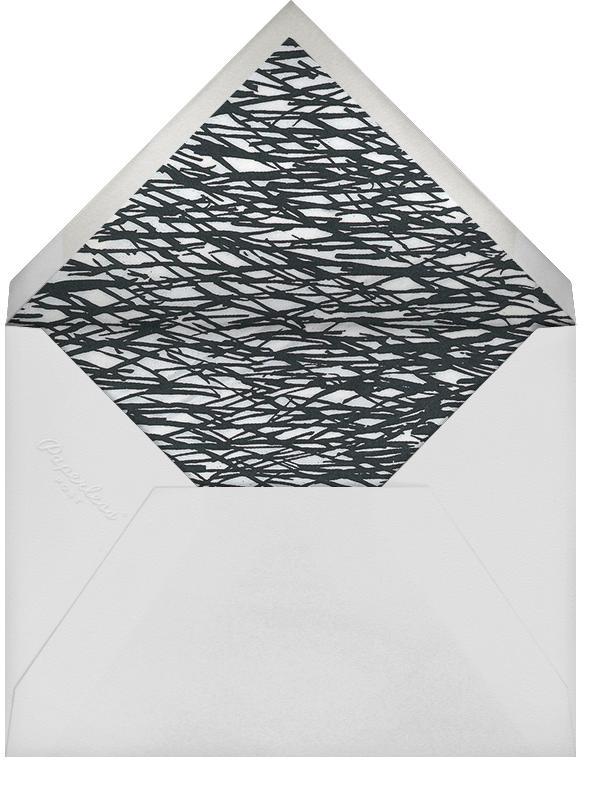 Cherish (Save the Date) - Gold - Kelly Wearstler - Modern  - envelope back
