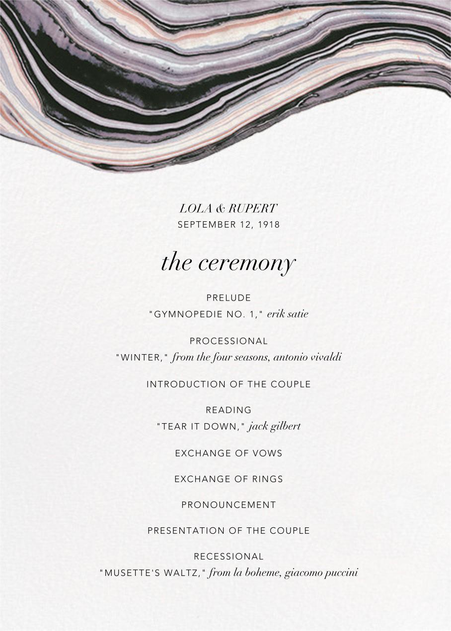 Marbleized (Program) - Kelly Wearstler - Kelly Wearstler wedding