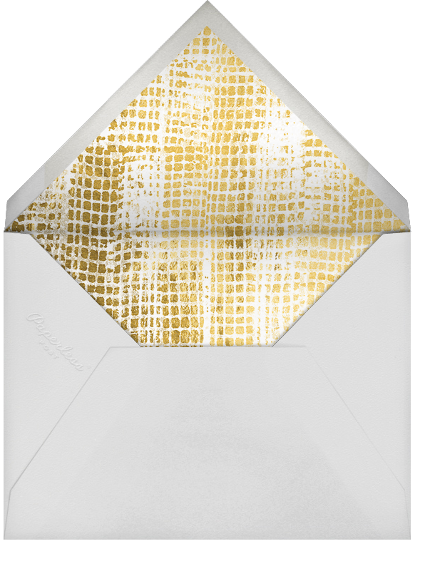Love Struck (Photo) - Black/Gold - Kelly Wearstler - Anniversary party - envelope back