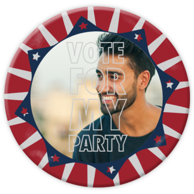 Vote for my Party - Paperless Post - Inauguration Invitations