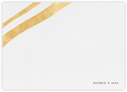 Cherish (Stationery) - Gold - Kelly Wearstler - Personalized Stationery