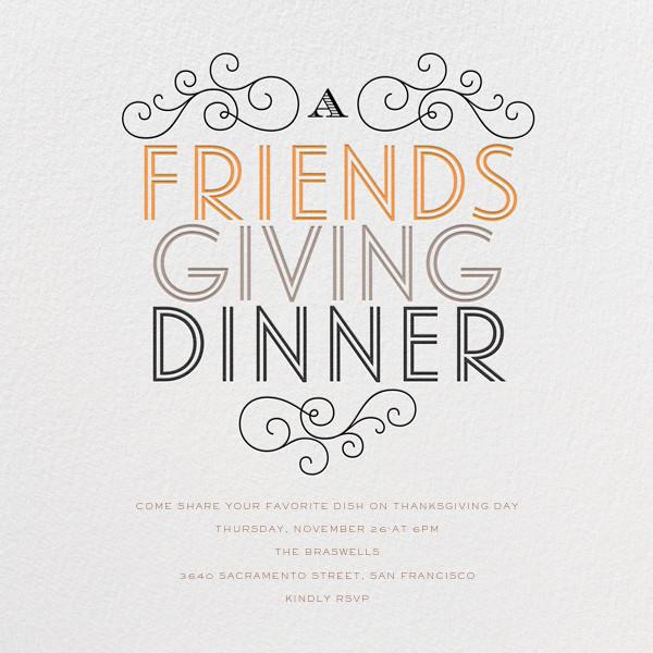 Friendsgiving Dinner - bluepoolroad - Parties