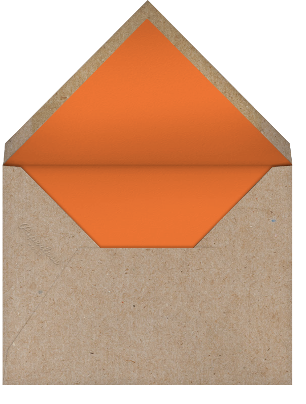 Friendsgiving Dinner - bluepoolroad - Thanksgiving - envelope back