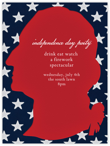 Washington Flag - Paperless Post - Invitations