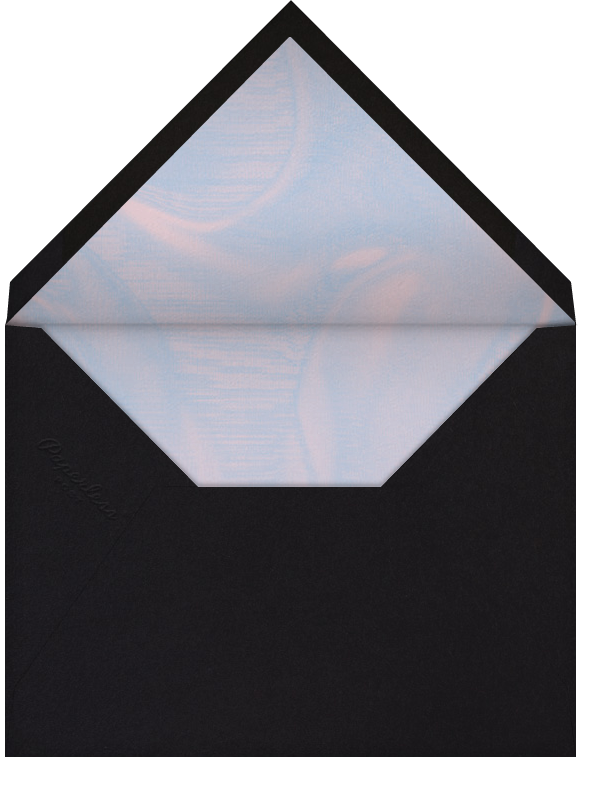 Worm Hole - Black - Paperless Post - General entertaining - envelope back