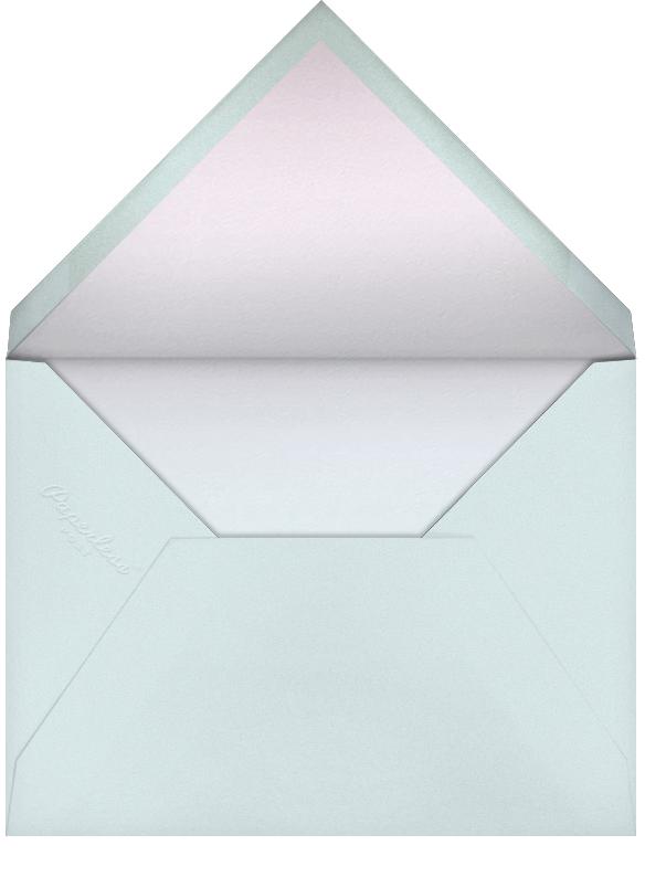 Malibu Haze - Paperless Post - Bar and bat mitzvah - envelope back