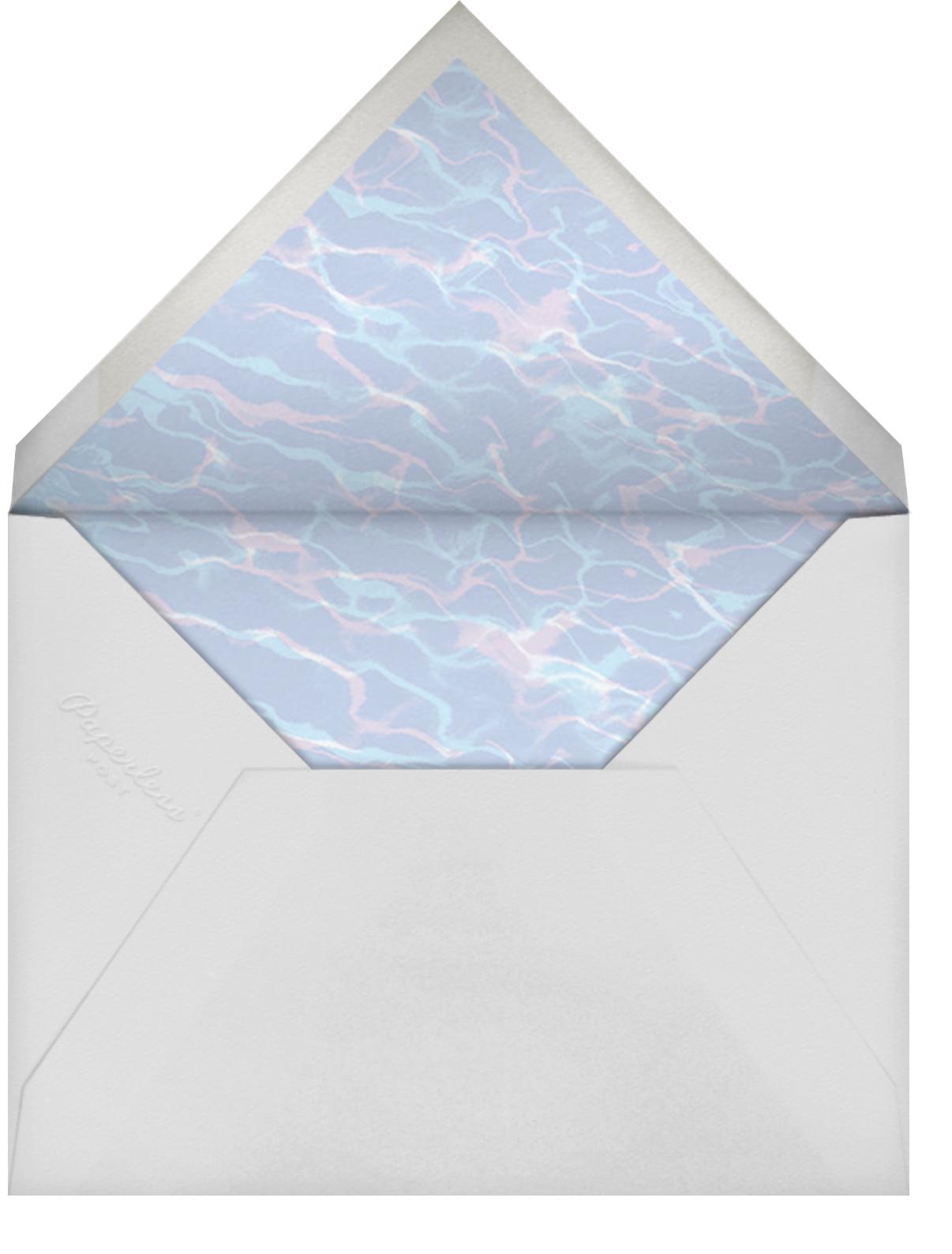 Liquid Dinner - Blue - Paperless Post - Brunch - envelope back