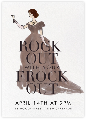 Frocks Out - Fair - Derek Blasberg -