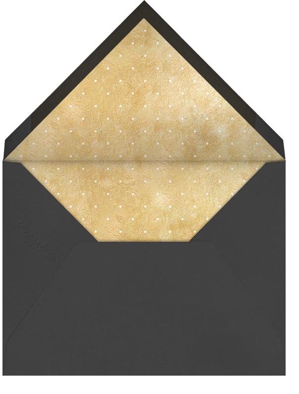 Melbourne Skyline View - White/Gold - Paperless Post - Housewarming - envelope back