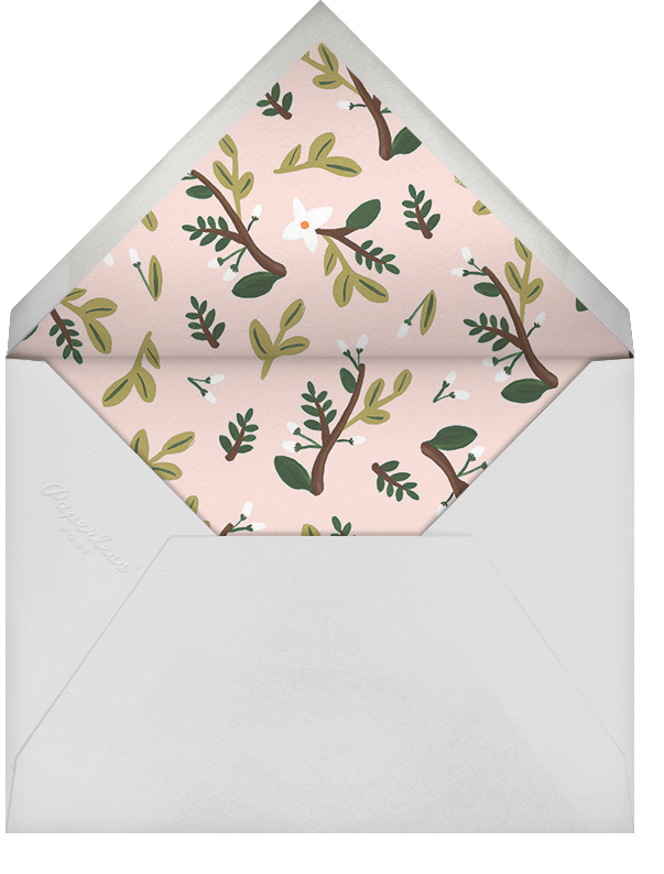 Floral Glade (Photo) - Rifle Paper Co. - Birth - envelope back