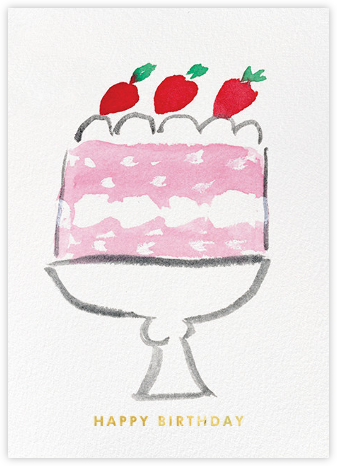 Cake Birthday - kate spade new york - Online Greeting Cards