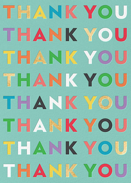 Can't Thank You Enough - kate spade new york - Online greeting cards